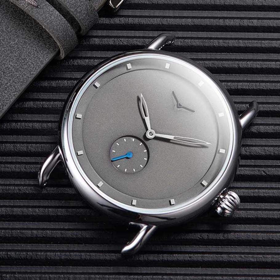 Simple Casual Leather Strap Watch