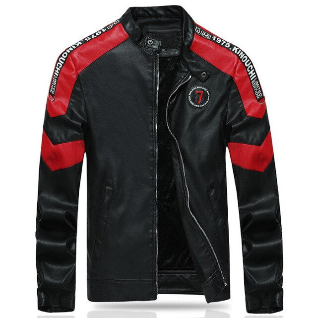 Stand Collar Sports Motorcycle Rider Jacket