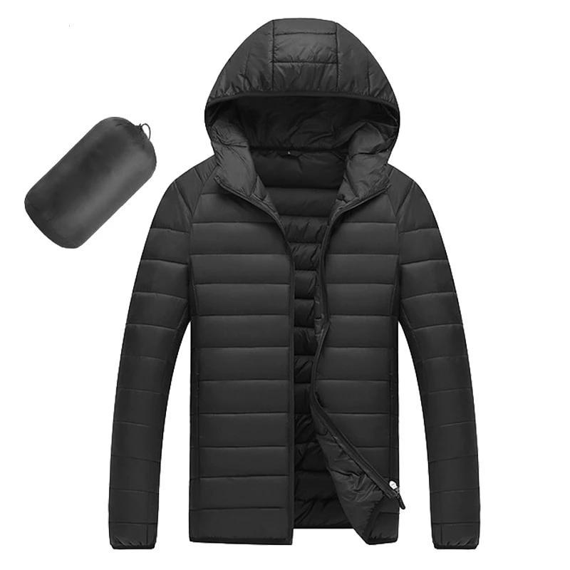 Hooded Cotton Winter Casual Jackets - BrapWrap