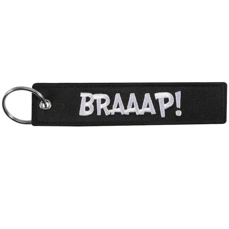 BRAAAP Embroidery Key Tag - BrapWrap
