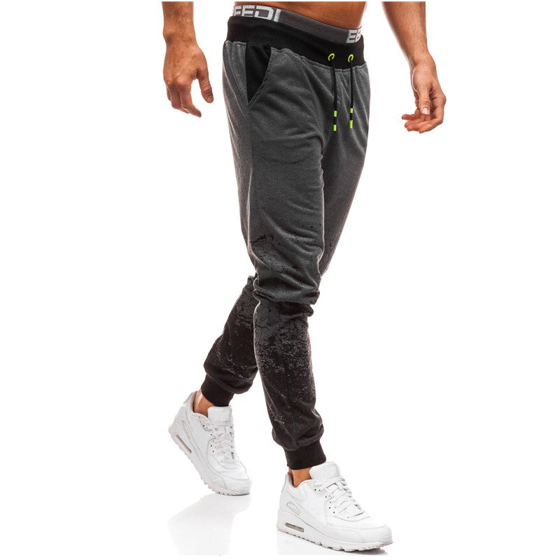 Solid Color Rope Casual Comfort Joggers