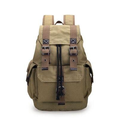Canvas Shoulder Backpack - BrapWrap