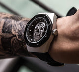 Sports Skull Silicone Strap Watch