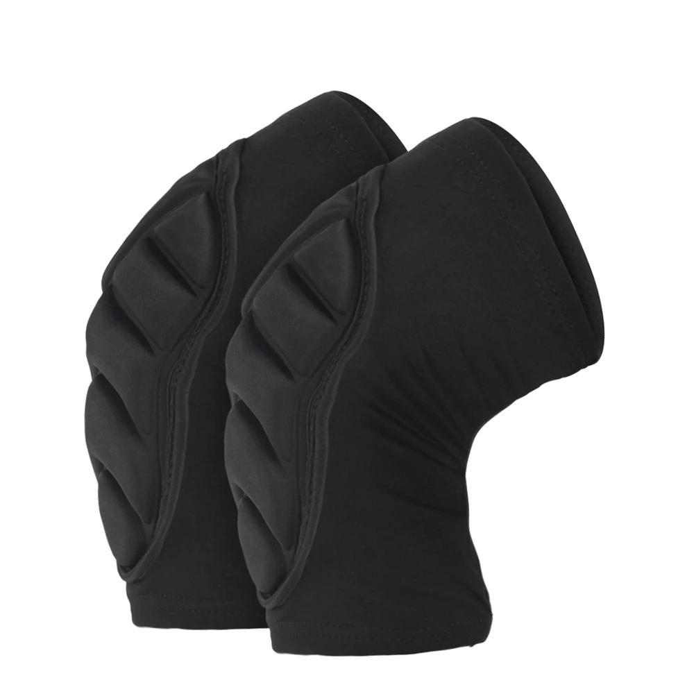 Black Motorcycle Knee Protection Racing Guard - BrapWrap