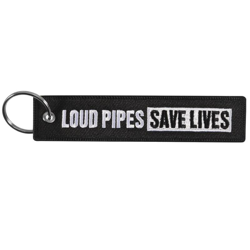 Loud Pipes Save Lives Special Key Tag - BrapWrap