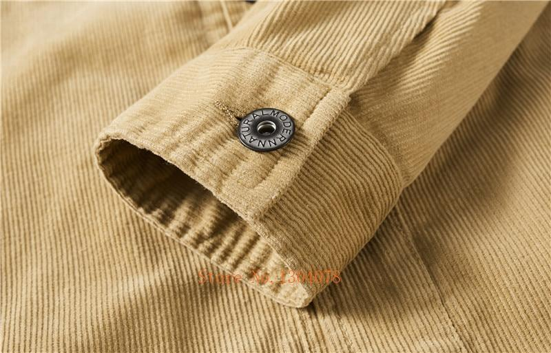 Corduroy High Quality Fashion Jacket - BrapWrap