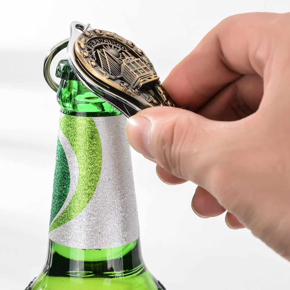 San Francisco Nail Clipper Key Chain