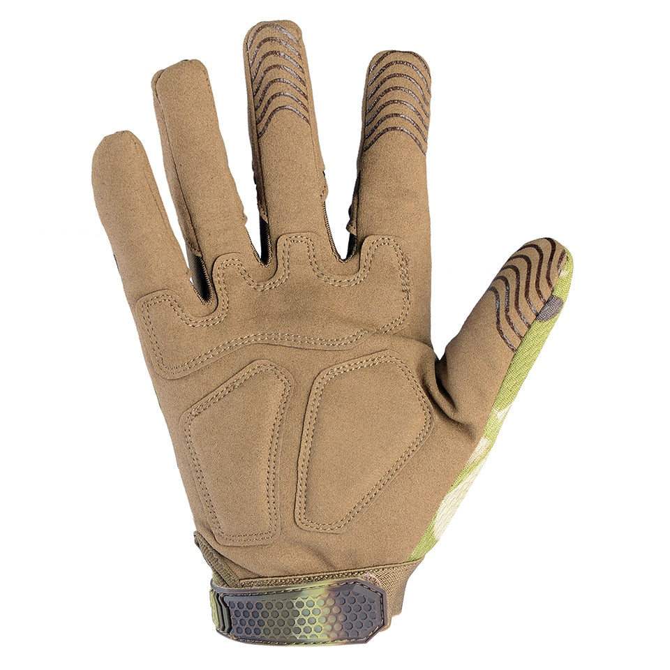 Tactical Army Military Full Finger Gloves
