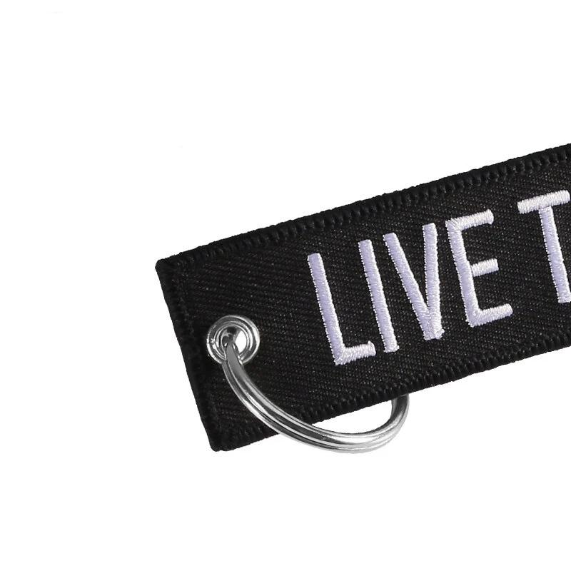 Ride to Live Key Tag