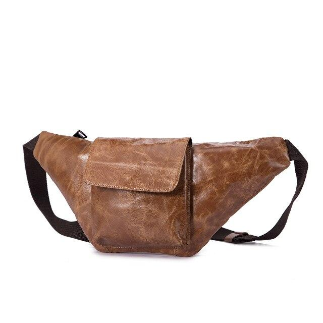 Leather Waist Pack Sling Bag - BrapWrap