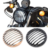 CNC Led Headlight Grill Cover - BrapWrap