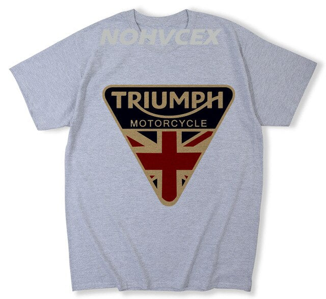 Triumph Logo Cotton T Shirt