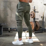 Casual Skinny Multi-pocket Trousers - BrapWrap