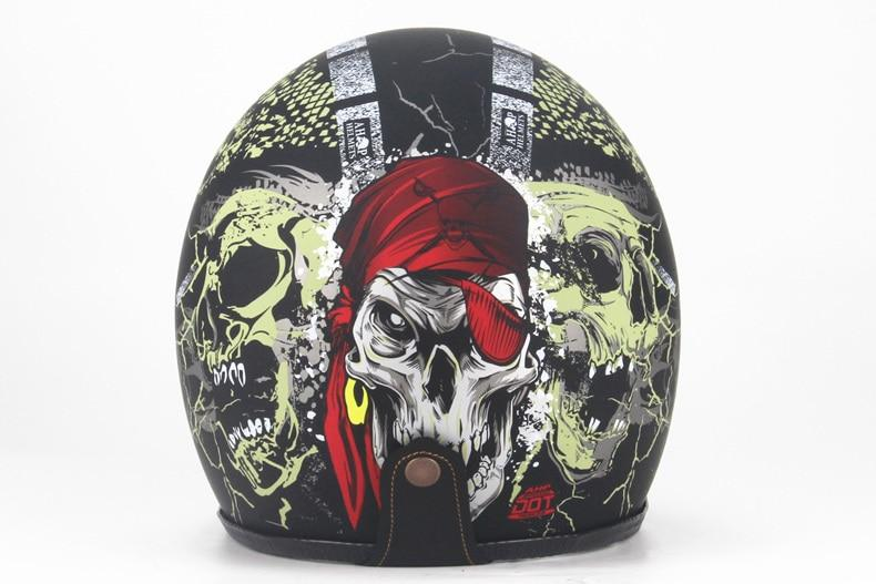3D Multi Color Skull Print Helmet with Face Mask & Goggles