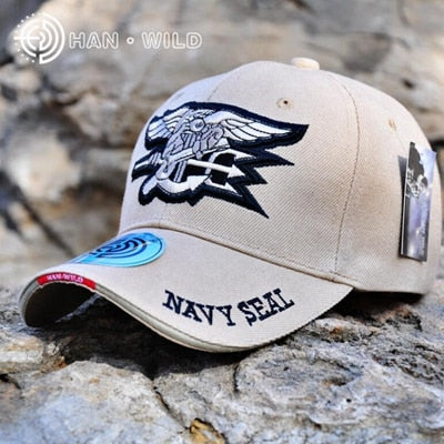 US Navy Embroidered Navy Seal Team Baseball Military Cap Tactical Low Profile Cap