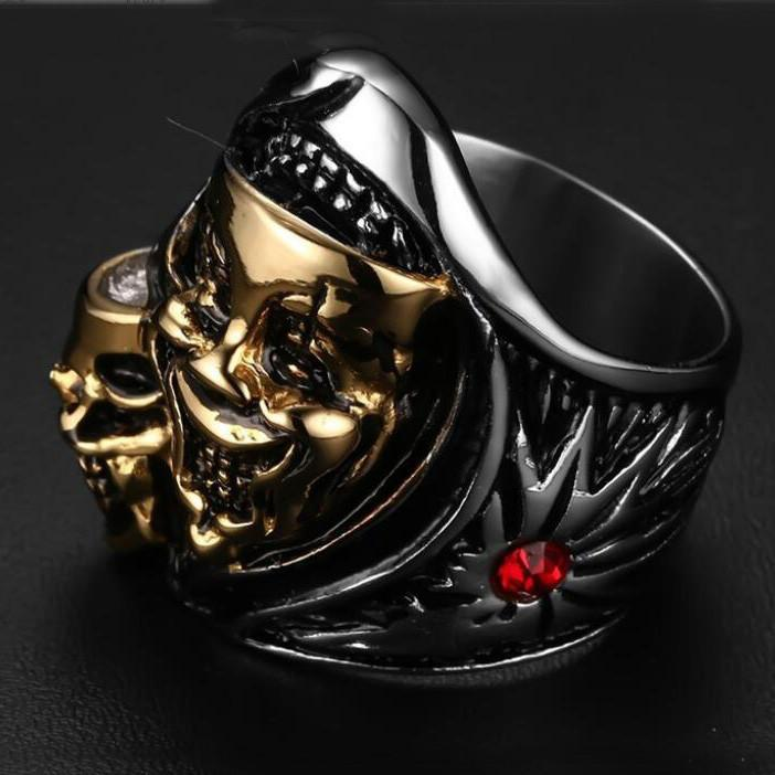 Punk Design Skulls Rings