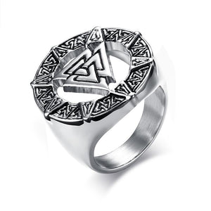 Ancient Viking Runes Ring