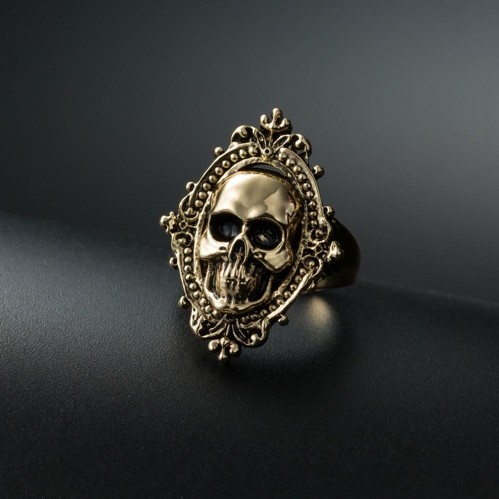 Ancient Ghost Skull Ring - BrapWrap
