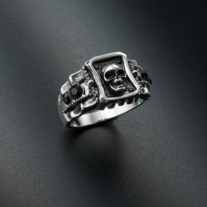 Premium Quality Skull Ring for Biker - limited Edition