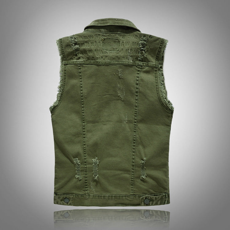 Washed Cotton Vest