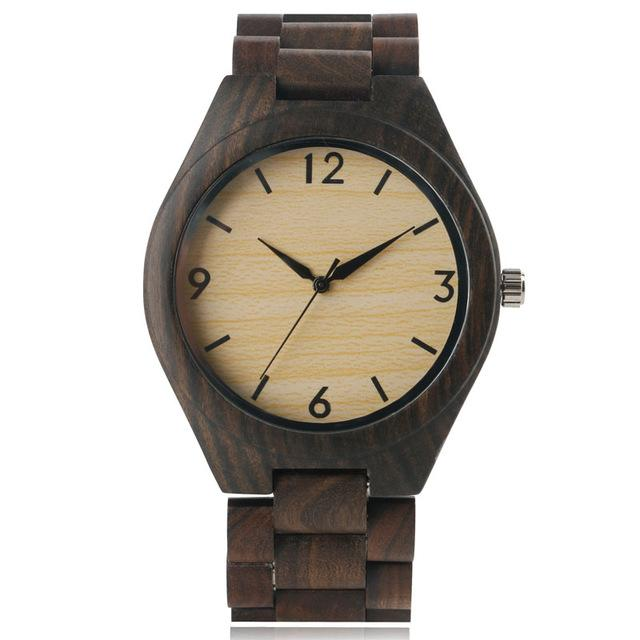 Hand Made Wooden Fashion Watch - BrapWrap
