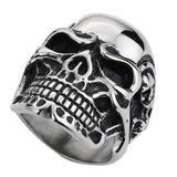 Great Skull Ring for Bikers - BrapWrap