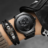 GIMTO LUXURY STEEL WATER RESISTANT MALE WATCHES - BrapWrap