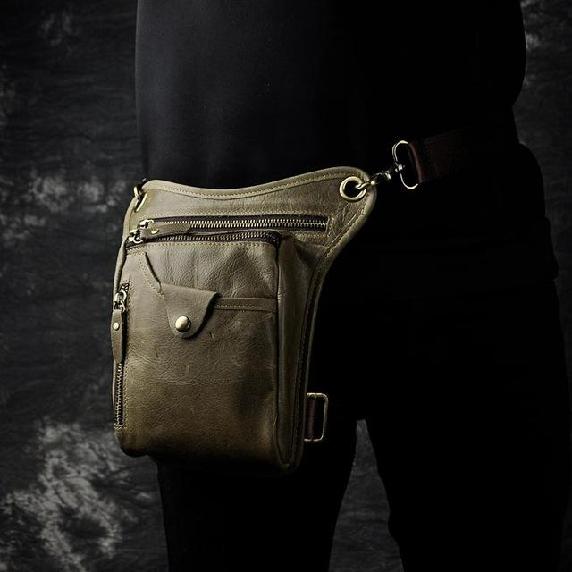 Genuine Leather Cross-body Sling Bag