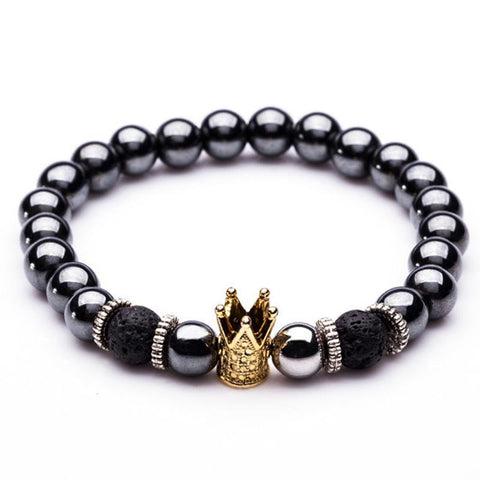 High Quality Crown Distance Bracelet - Anniversary Gift