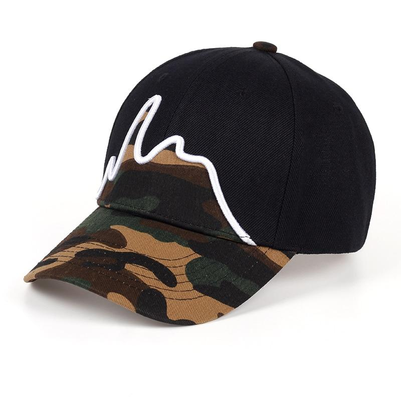 Camouflage Pattern Embroidery Cap - BrapWrap