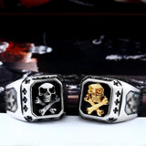 Biker Skull Ring Limited Edition