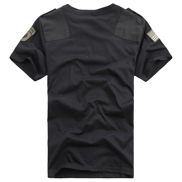 US Army Patchwork Pocket T-Shirts