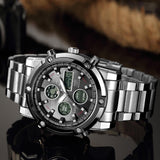 Muscular Look Analog Digital Watch