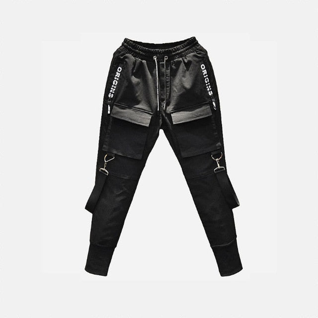 Side Pockets Pencil Joggers