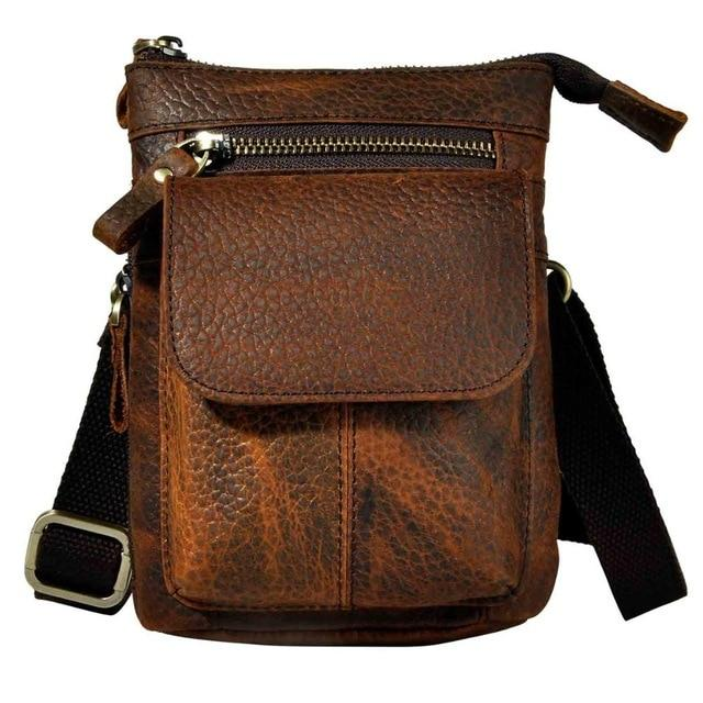 Leather Small Cross body Bag