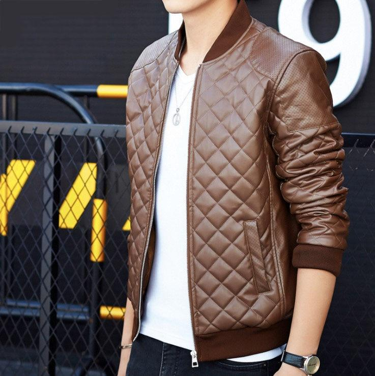 High Quality Soft PU Faux Leather Jacket - BrapWrap