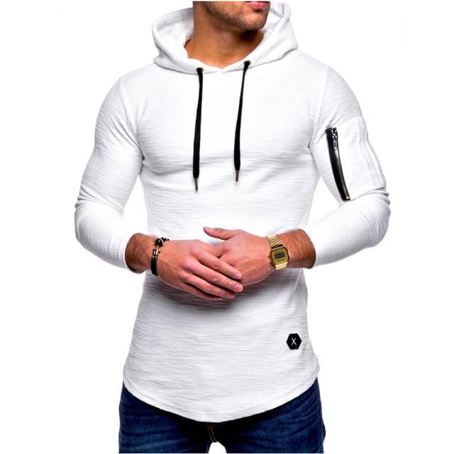Hooded Sling Sweatshirt
