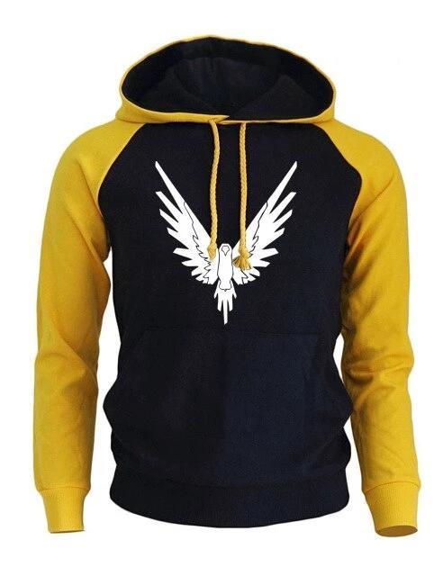 Winter Fleece Eagle Hip Hop Hoodie