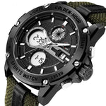 Army Style Analog Digital Sport Watch