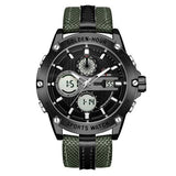 Army Style Analog Digital Sport Watch - BrapWrap