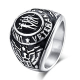 US Military Veteran Ring