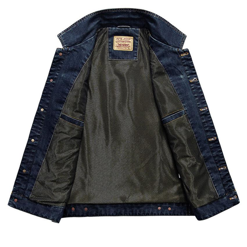 Military Denim Cotton Multi Pocket Vest - BrapWrap