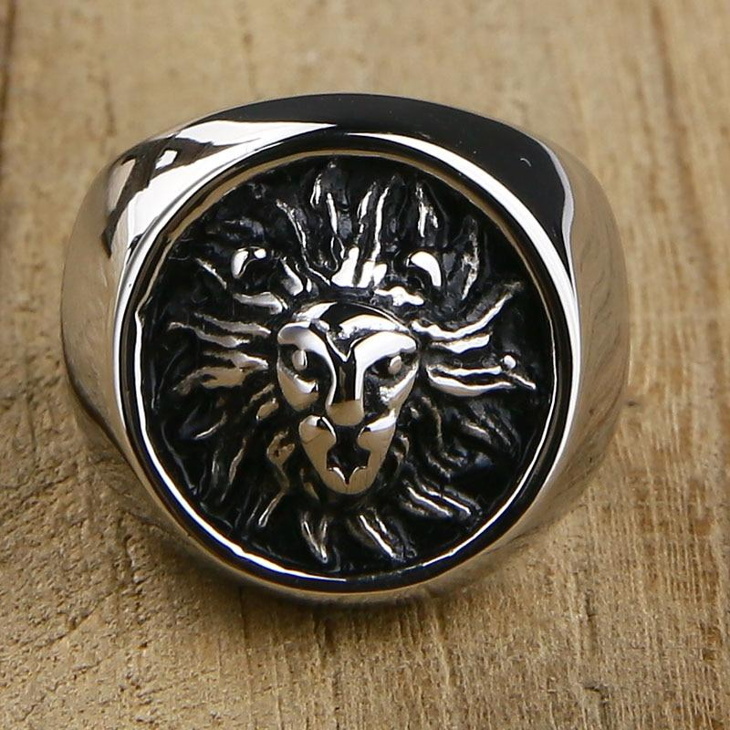 Lion Design Ring - BrapWrap