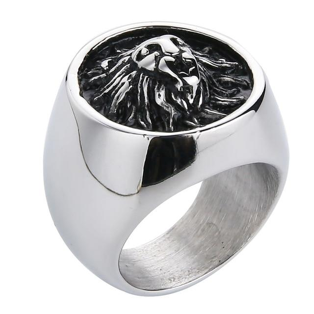 Lion Design Ring