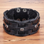 \Wrapped Leather Bracelet