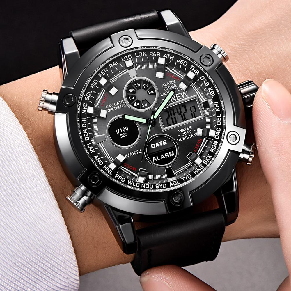 Dual Time Sports Watch