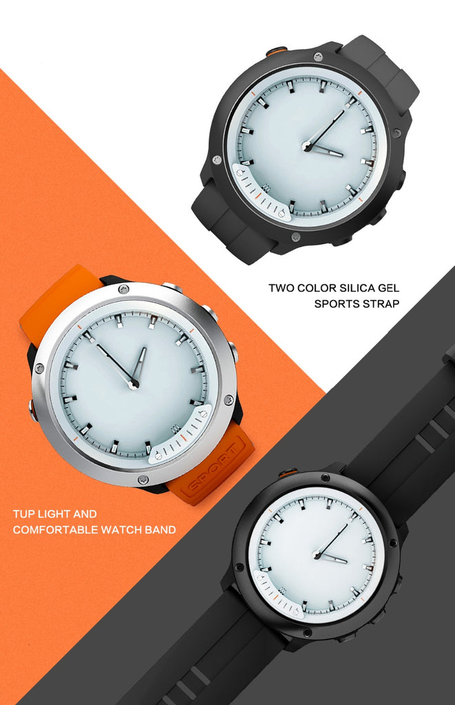 Transparent Screen Sport Smart Watch