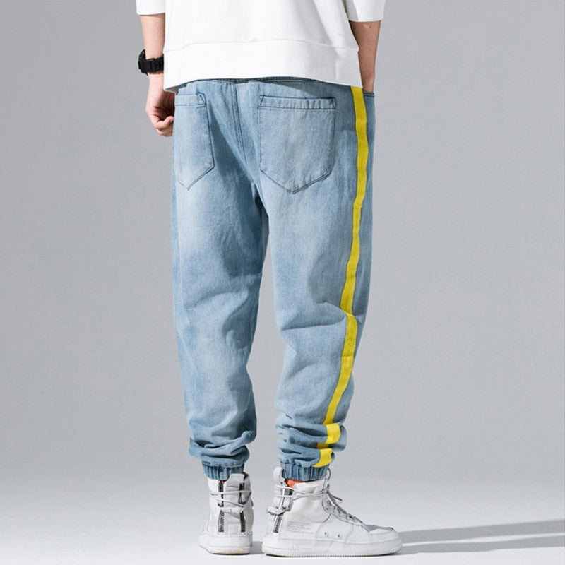 Yellow Stripe Spliced Cargo