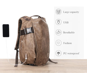 Waterproof Laptop Backpack with USB Charge