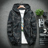 Military Print Summer Wind Camo jacket